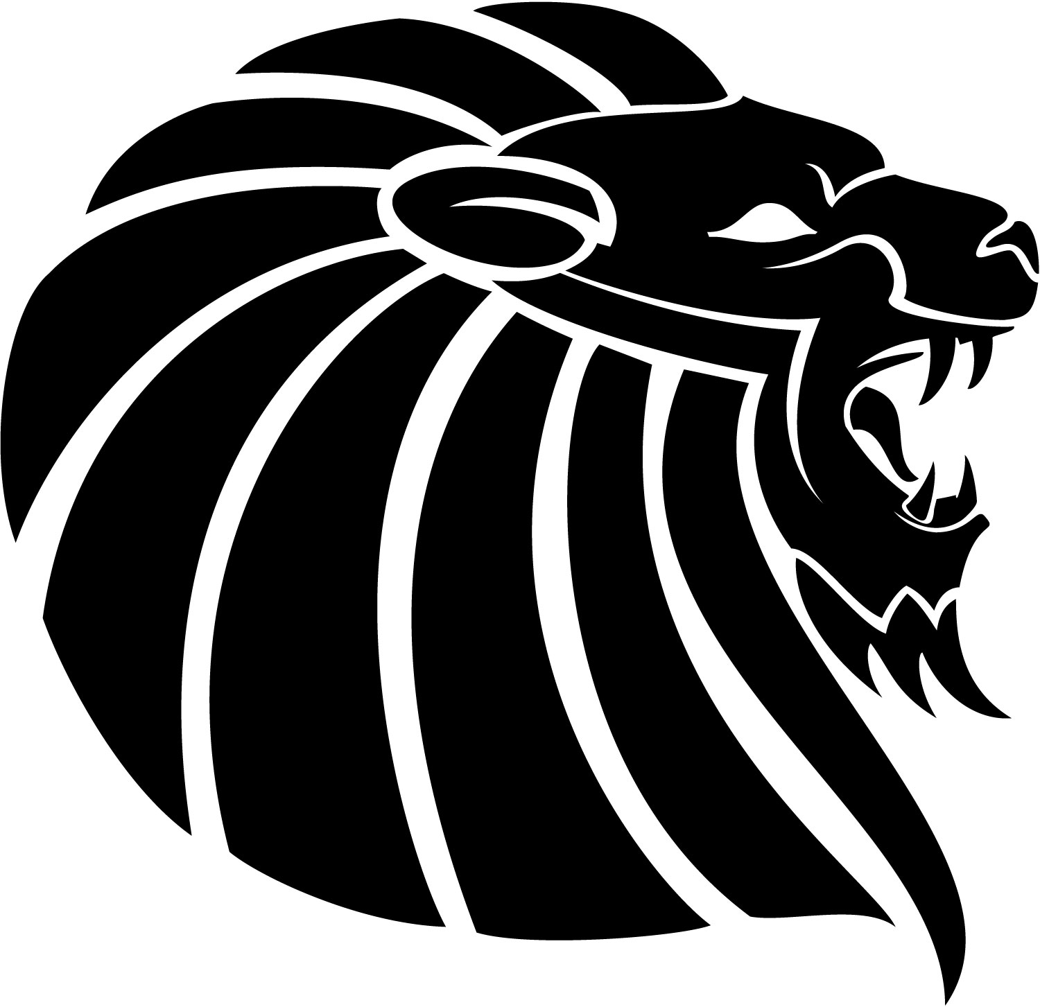 Lion Head Vector Free