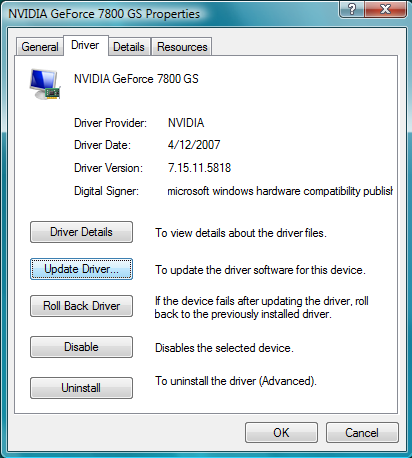 14 Vista Graphics Drivers Images