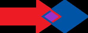 Merging Arrows Clip Art