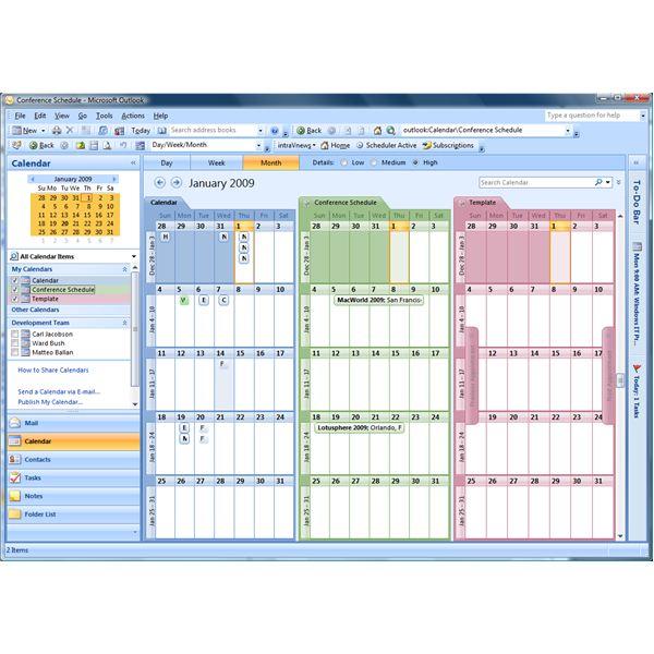 Microsoft Outlook Calendar Clip Art