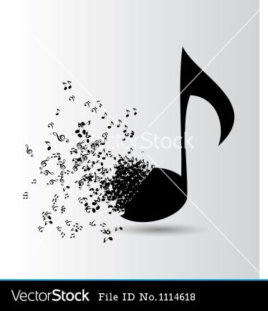 Music Abstract Vector Design