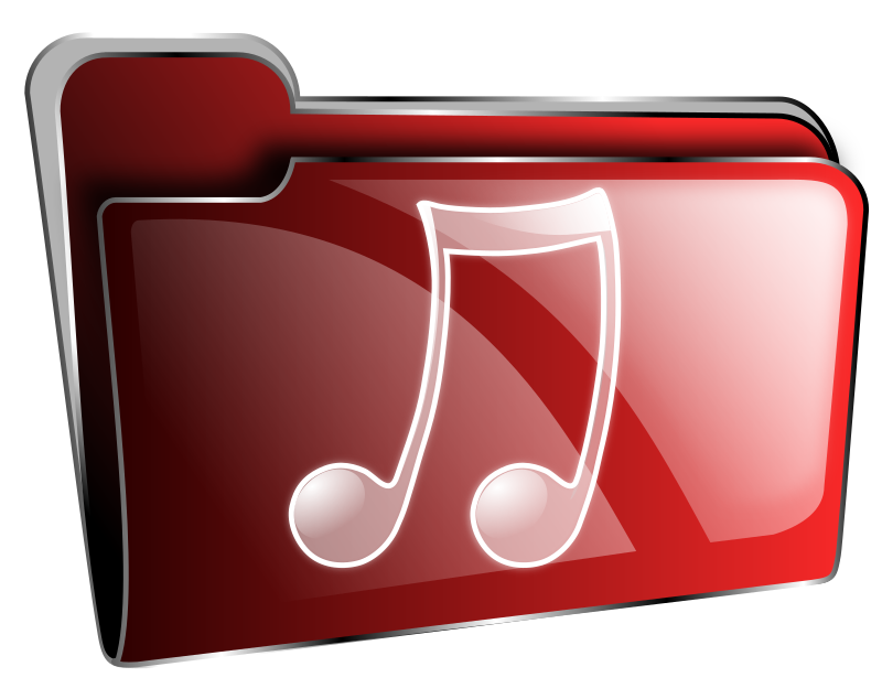11 Music Icon Red Images