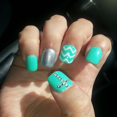 Nail Designs with Crosses - 13 Cross Acrylic Nail Designs Images - Acrylic Nails With Cross