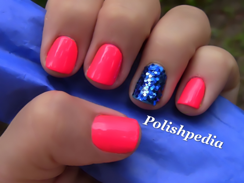14 Cute Nail Designs With Pink And Blue Images