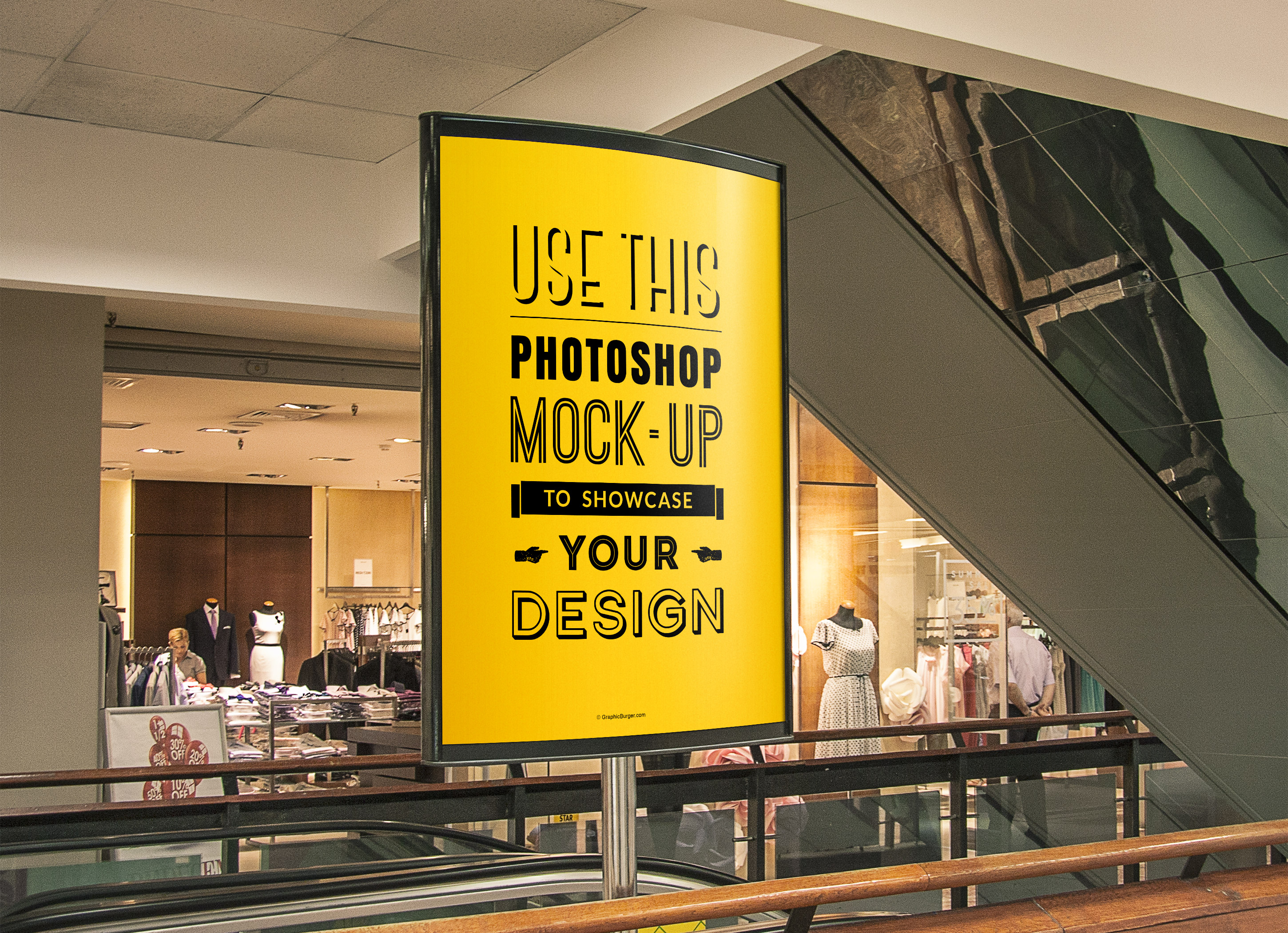 Outdoor Free PSD Poster Mockup Templates
