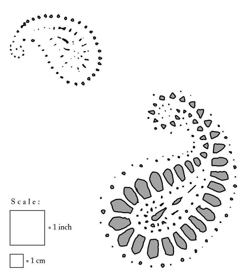 Paisley Pattern Stencil Design