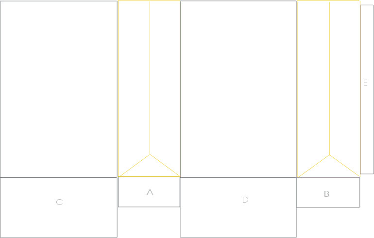 paper bag template illustrator the image kid has it. Black Bedroom Furniture Sets. Home Design Ideas