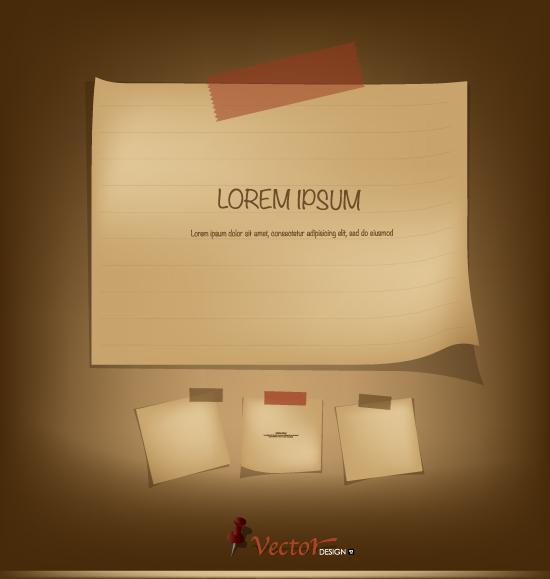 Paper Vector Free Download