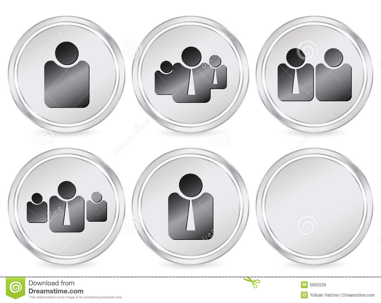 People Icon Circle