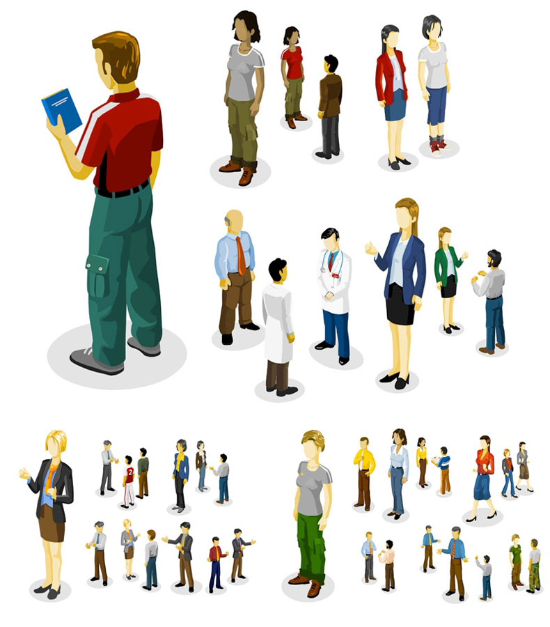 People Vector Clip Art