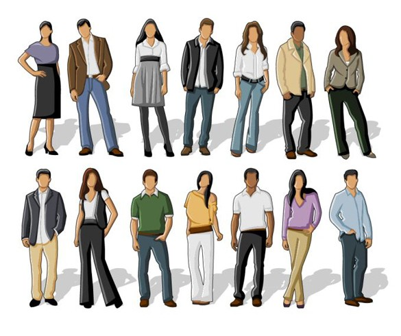People Vector Graphics