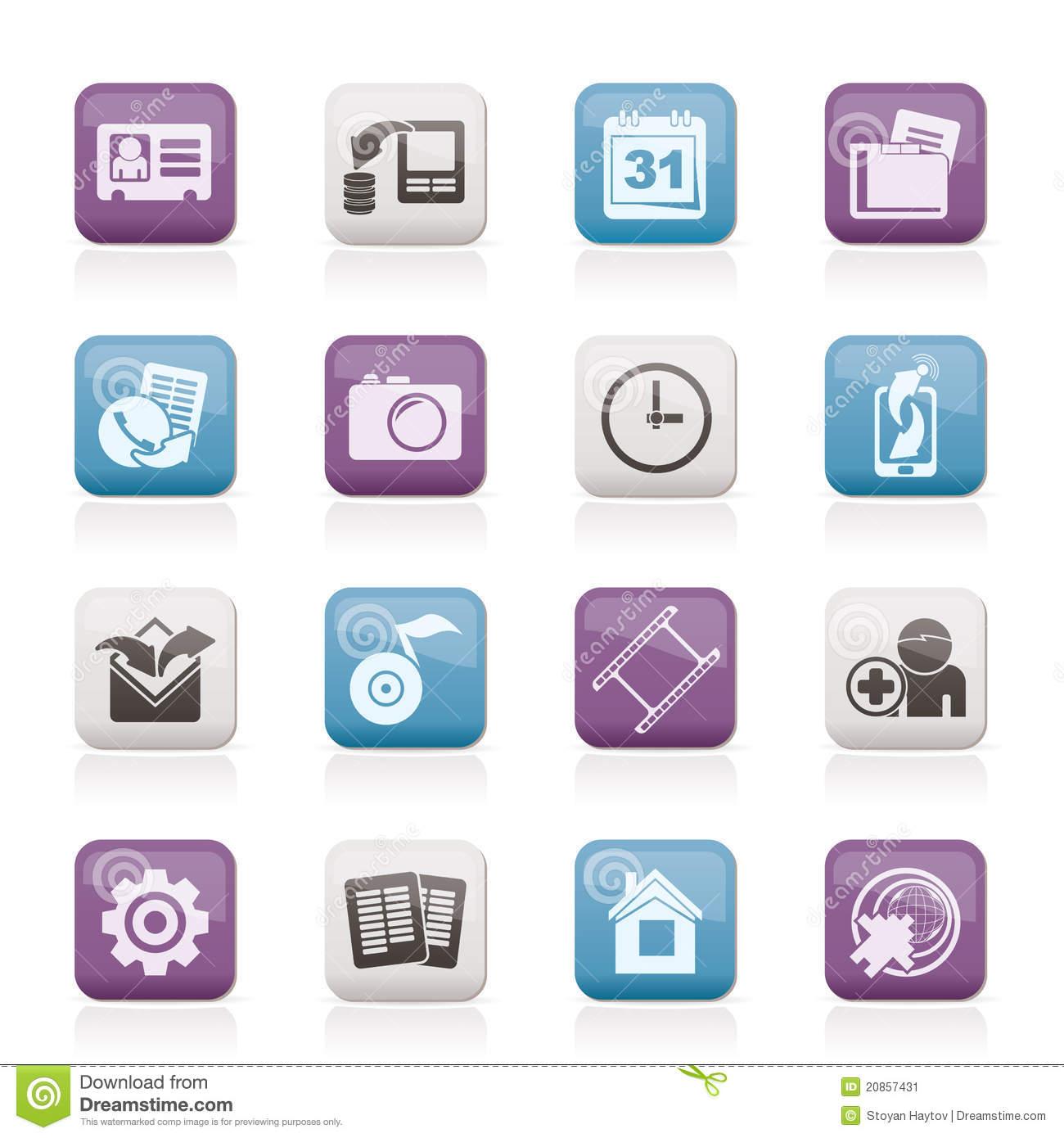 Phone Mobile Menu Icon
