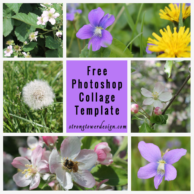 Photoshop Collage Templates Free Download