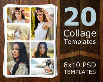 Photoshop Collage Templates