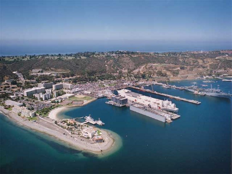 10 Point Loma Naval Base PSD Images