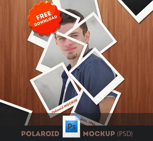 Polaroid Frames Psd