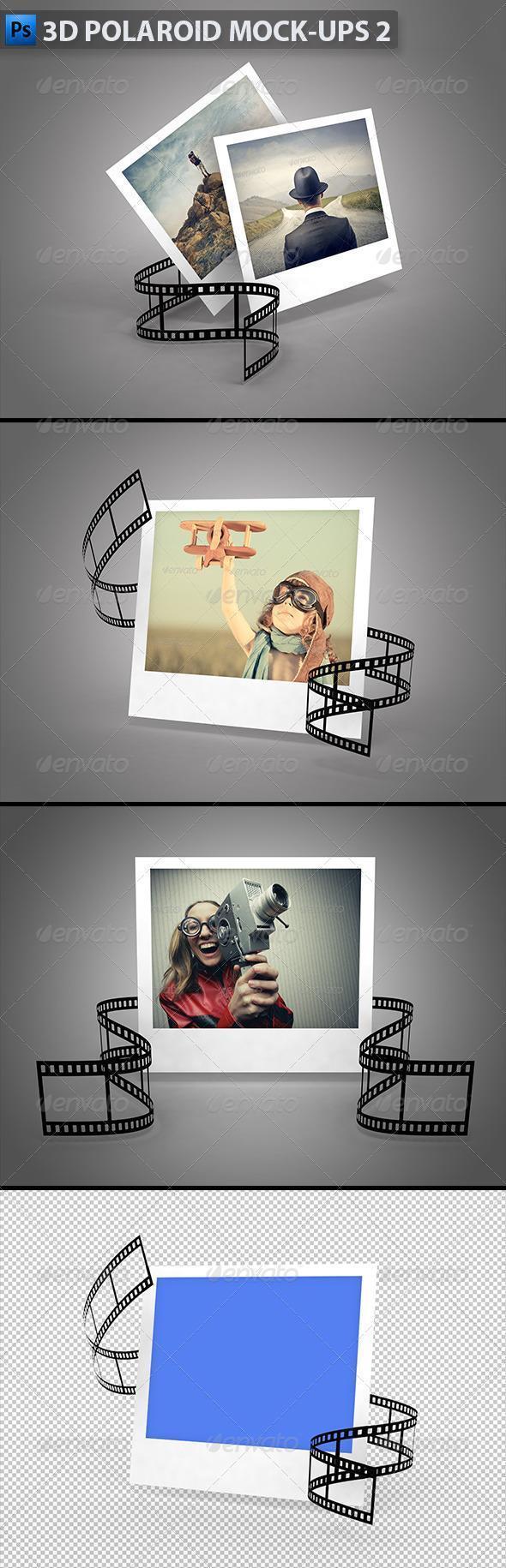 Polaroid Photoshop Template