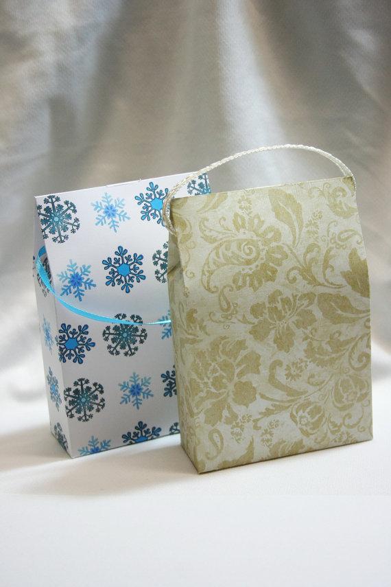 Printable Paper Gift Bag Template
