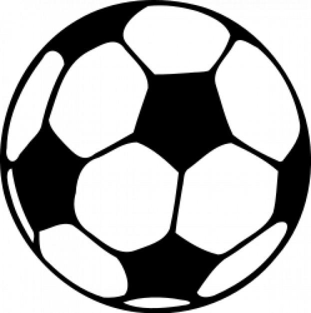 Purple Soccer Ball Clip Art