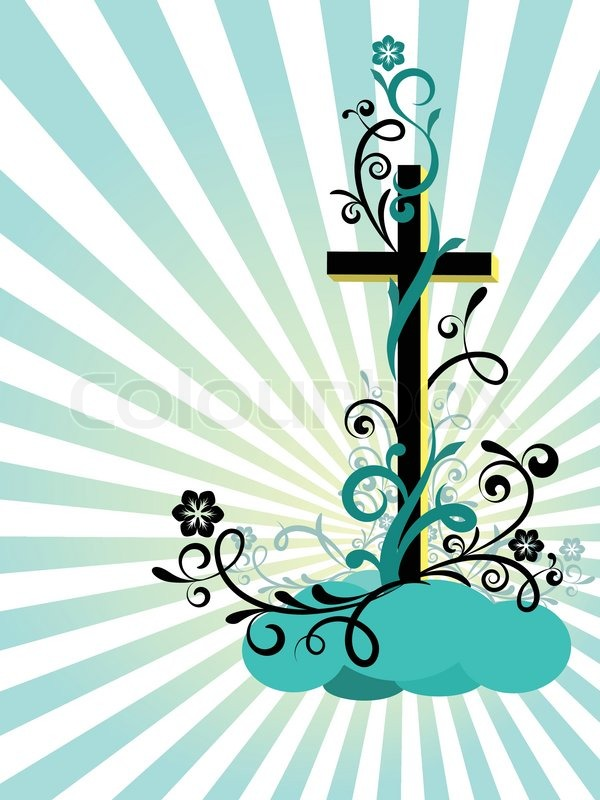 Religious Easter Symbols Clip Art