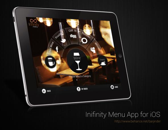 Ipad menu bar icons images iphone tab