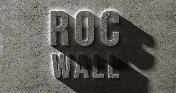 Rock Text Effect Photoshop