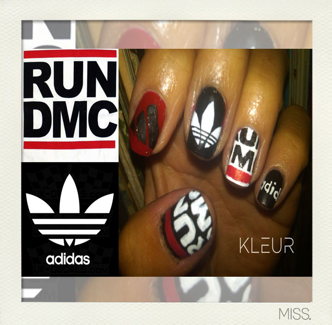 Run DMC Nail Designs