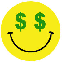 8 Emoticon Throwing Money Images