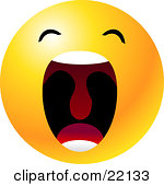13 Open Mouth Emoticon Images