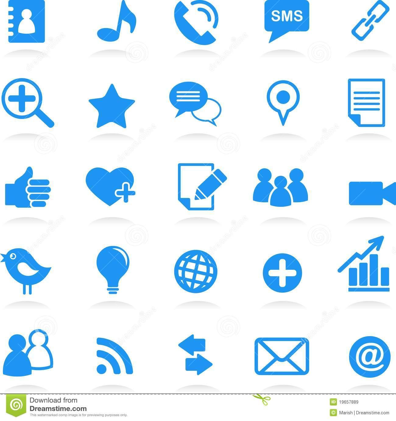 Social Network Icons Free