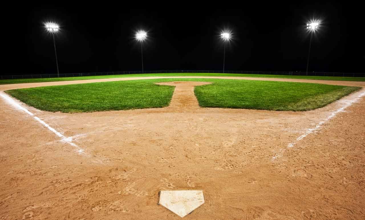 Softball Baseball Field Background