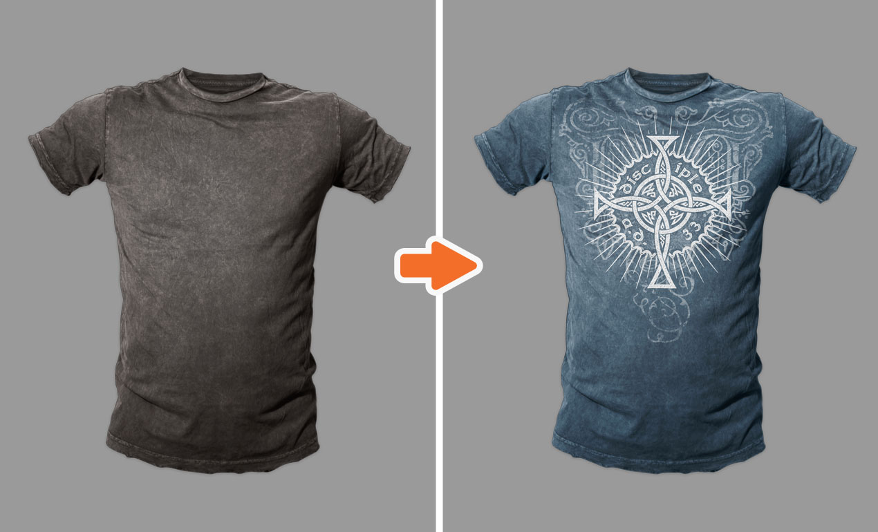 Blank T Shirts Template Photoshop