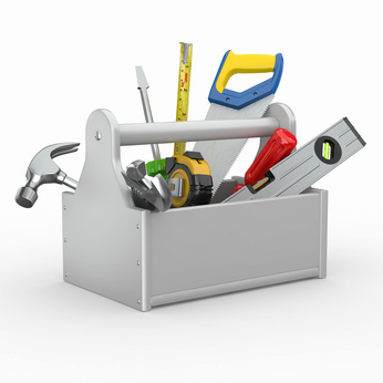 12 Construction Tools And Tool Box Icon Images
