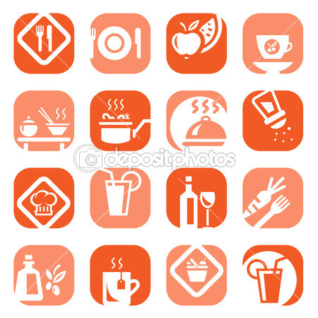 15 Food Icons Vector Types Images