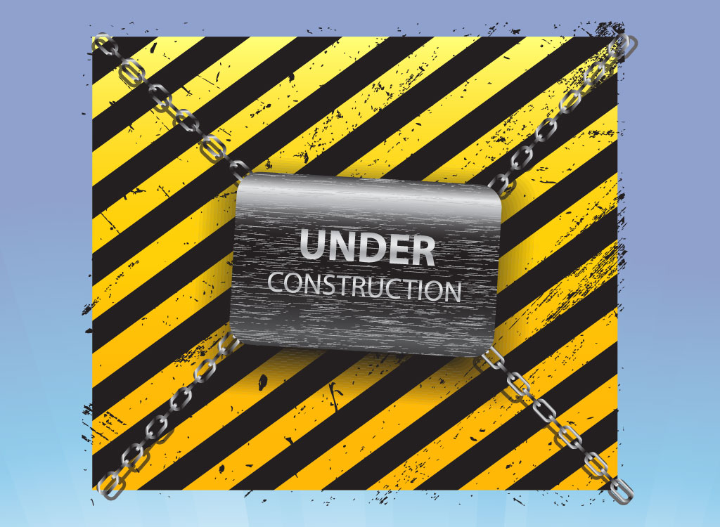 8 Free Under Construction Vector Pack Images