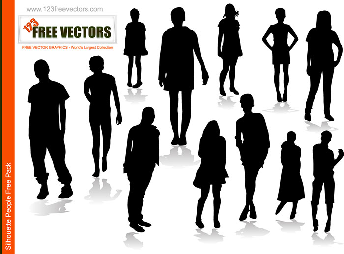 18 People Vector Art Images
