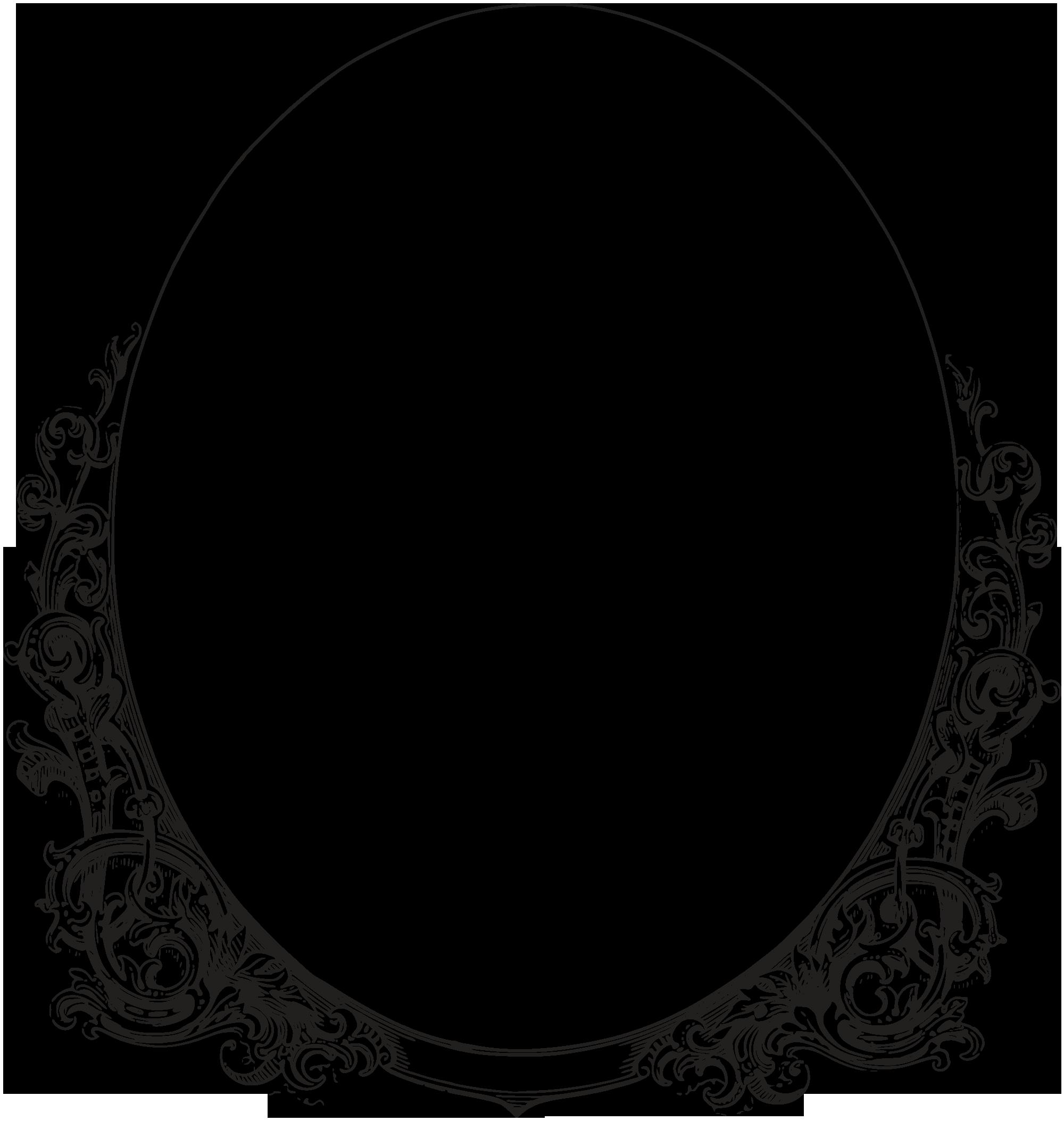 clip art oval frames free - photo #16