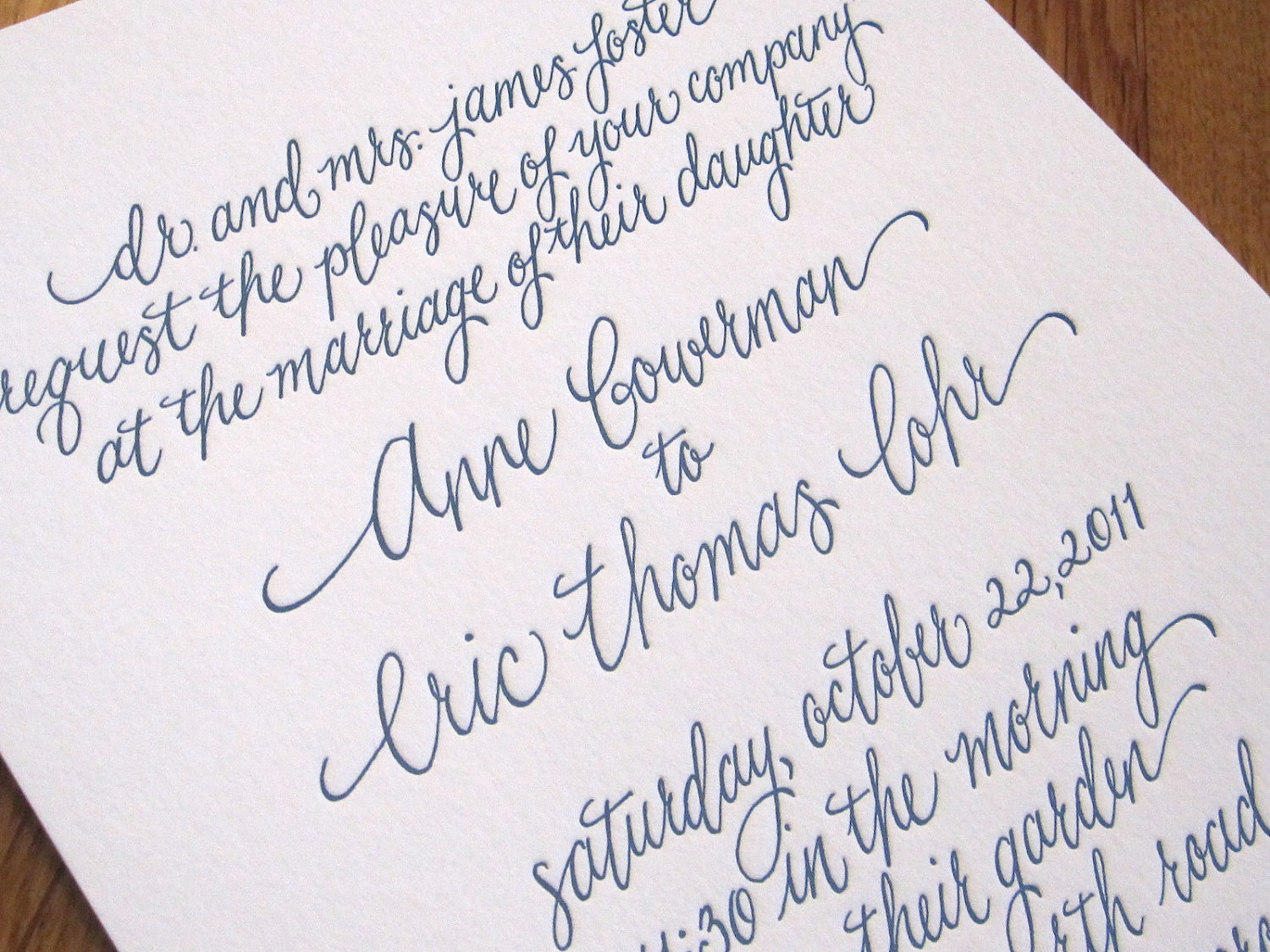 Calligraphy fonts for wedding invitations images