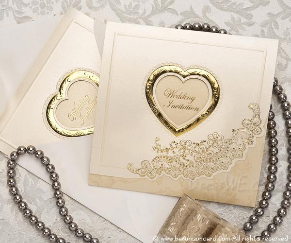 Wedding Invitations Tri-Fold Card