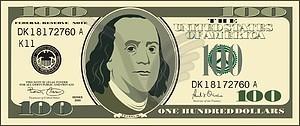 100 Dollar Clip Art