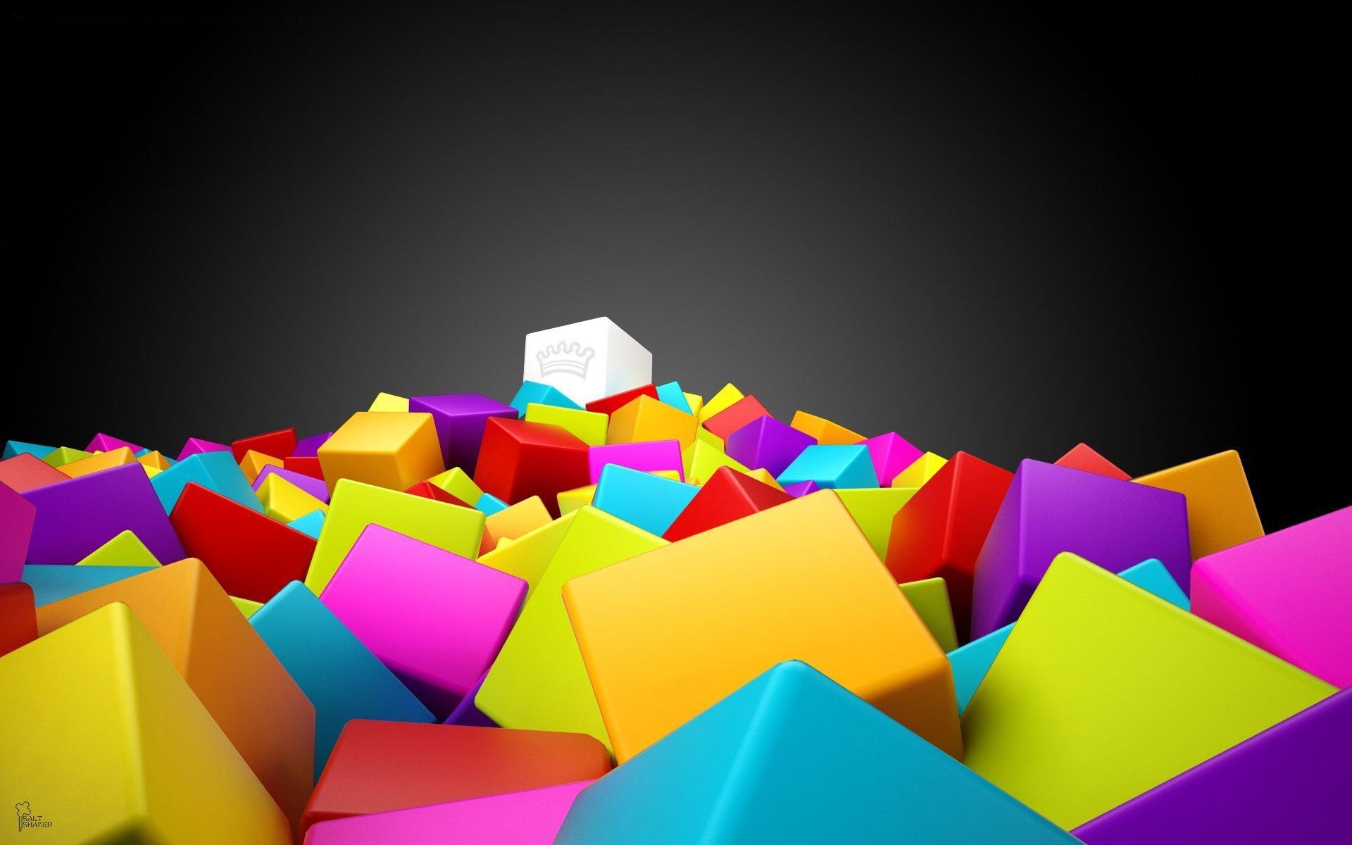 11 3D Colorful Graphic Design Images