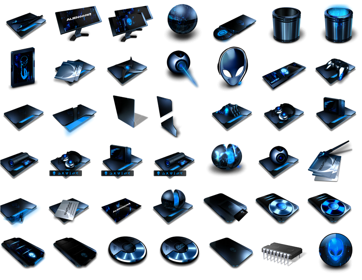 Alienware Icons for Windows 8 Free Download