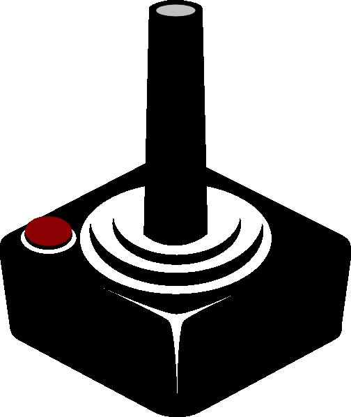 Atari Joystick Clip Art