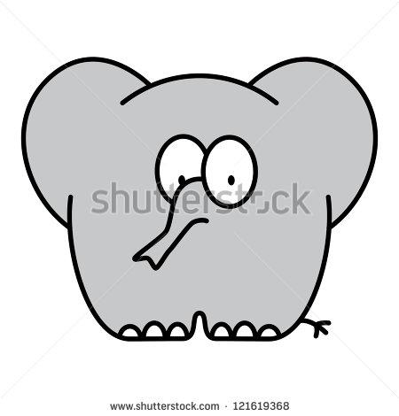 Baby Cartoon Elephant Singing