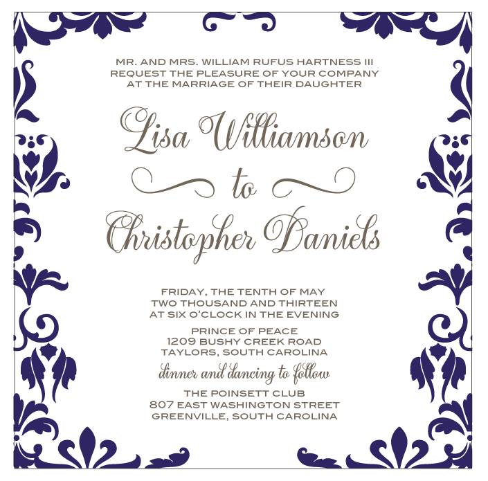 Best Font for Calligraphy Wedding Invitations
