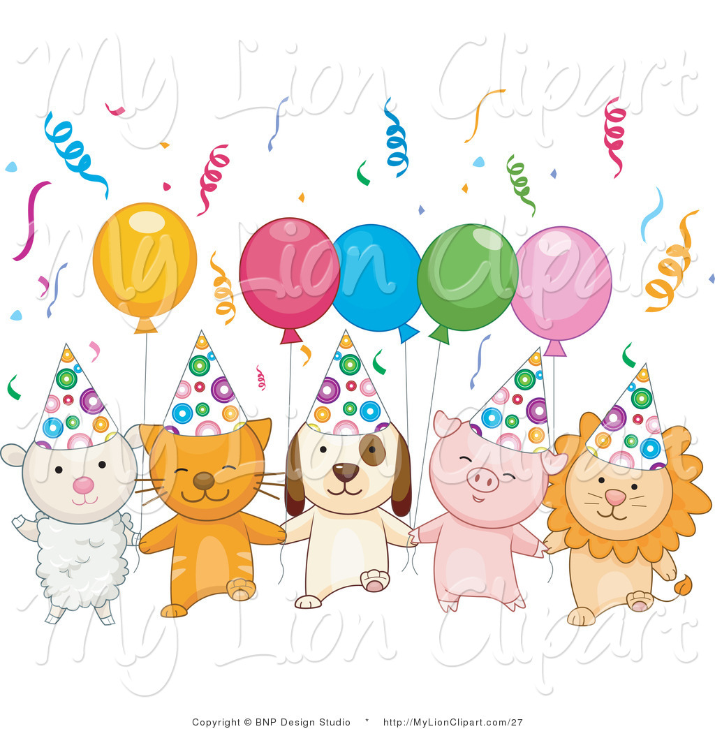 Birthday Party Celebration Clip Art