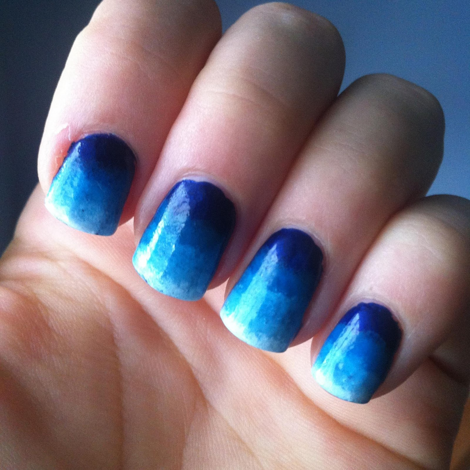 14 Blue Acrylic Nail Designs Images