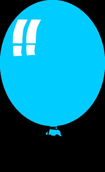 Cartoon Balloon Clip Art