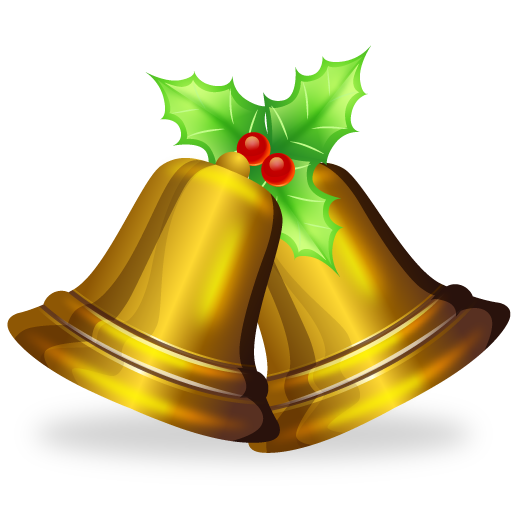 13 Christmas Bell Icons Images