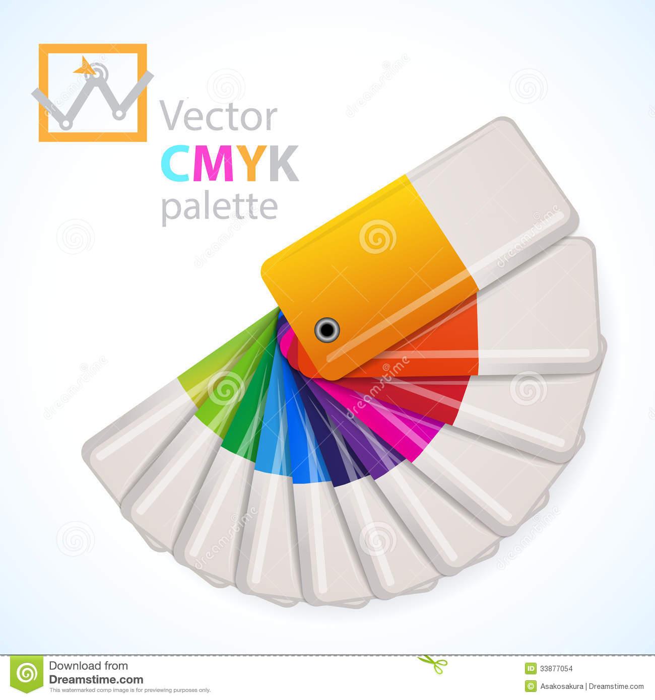 Color Palette Icon Vector